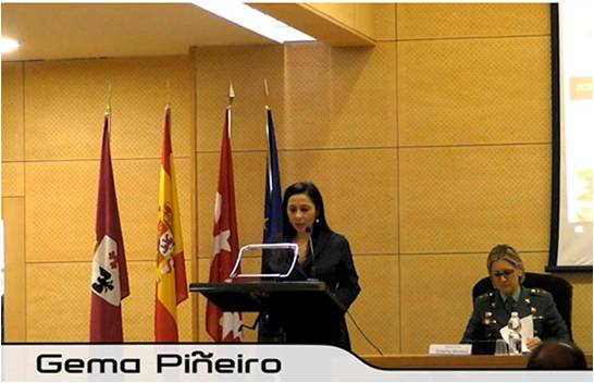 Gema Piñeiro  Periodista experta en políticas de seguridad e investigación privada. Detective habilitada por el Ministerio de Interior